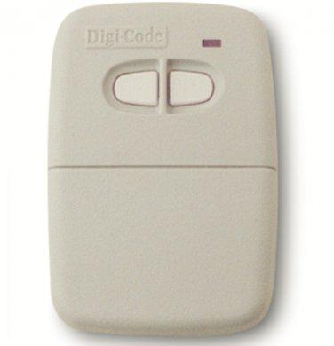 Digi Code 5060 remote compatible with Multi Code 4120 gate or garage door opener remote Digicode