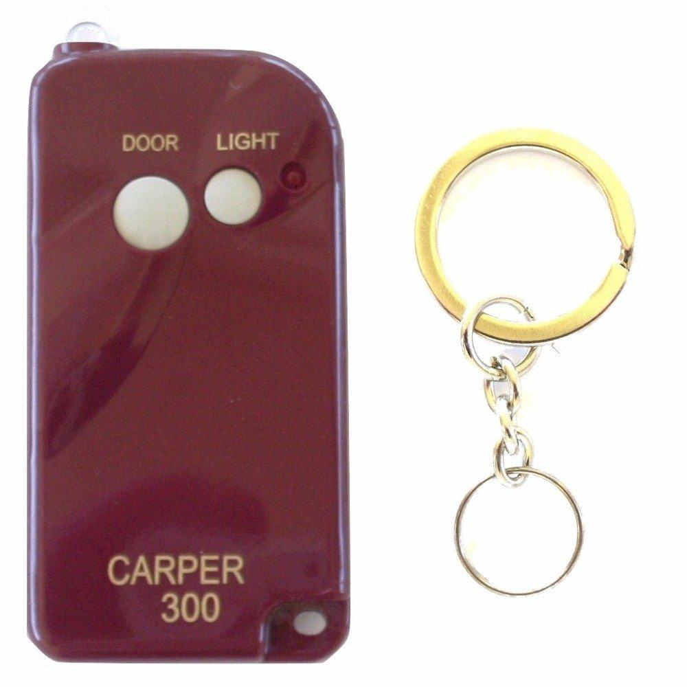 Carper Cx300 Keychain Remote Compatible With Multi Code