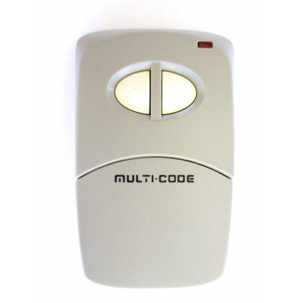 Multi-Code 4120 visor gate, garage door opener 2 button remote by Linear MCS412001 MultiCode