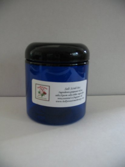 Handmade Aromatherapy Exfoliating Salt Scrub 8oz You Pick Scent