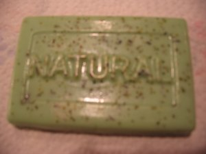Handmade Lemongrass Mint Soap 4oz Bar