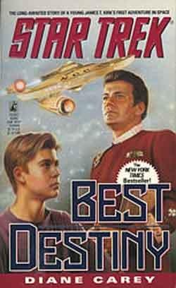 Star Trek:  Best Destiny - Book by Diane L. Carey - Star TreK Original Series Hard Cover