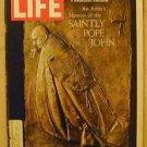 1968 Oct 11 Life Magazine:  Pope John XXIII.   Candidate Richard M. Nixon