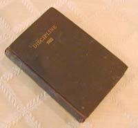 Doctrines & Discipline of the Methodist Episcopal Church, South - 1922