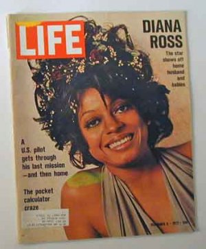 1972 Dec 8 - Life Magazine  Diana Ross � Lawrence Olivier
