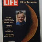 1969 July 4 - Life Mag  Apollo 11. Buzz Aldrin. Neil Armstrong. Mike Collins. Johnny Carson Ad