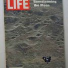 1969 June 6 Life Mag - Earth & Moon Photos by Apollo 10 Astronauts. Johnny Carson for Smirnoff