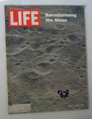 1969 June 6 Life Mag - Earth & Moon Photos by Apollo 10 Astronauts. Johnny Carson for Smirnoff