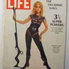 1968 March 29 Life Mag  Jane Fonda in Barbarella. RFK, McCarthy, Rockefeller, Nixon
