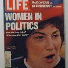 1972 June 9. LIfe Magazine:  Women in Politics. NOW.  Bella Abzug. Nixon USSR Trip