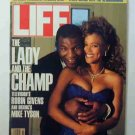 1988 July Life Magazine   Mike Tyson. Robin Givens. Boxing. Gauguin. Crack in U.S.