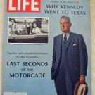 1967 Nov 24 Life Magazine JFK Assassination. John Connally. Barbie Dolls Ad