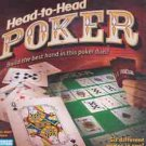 Head to Head Poker   Parker Bros Game for 2 Adults