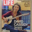 1971 Oct 29 Life Magazine  Shah of Iran Party. David Cassidy. H. Rap Brown Capture