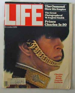 1978 Dec Life Mag  Prince Charles Age 30. Osmonds. Shroud of Turin. Last Photo Norman Rockwell