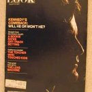 1971 Aug 10 Look Magazine   Ted Kennedy    Teddy Kennedy   Berlin Wall