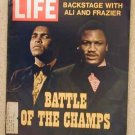 1971 March 5  Life Magazine Muhammad Ali & Joe Frazier Fight. MyLai Massacre. Cheryl Tiegs Ad