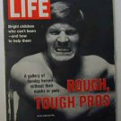 1972 Oct 6  Life Mag Pro Football Stars Photos. North Vietnam. Mark Spitz. McGovern