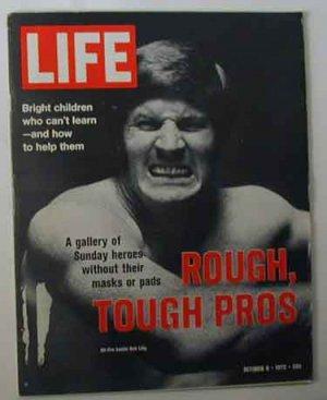 1972 Oct 6  Life Mag Pro Football Stars Photos. North Vietnam. Mark Spitz. McGovern