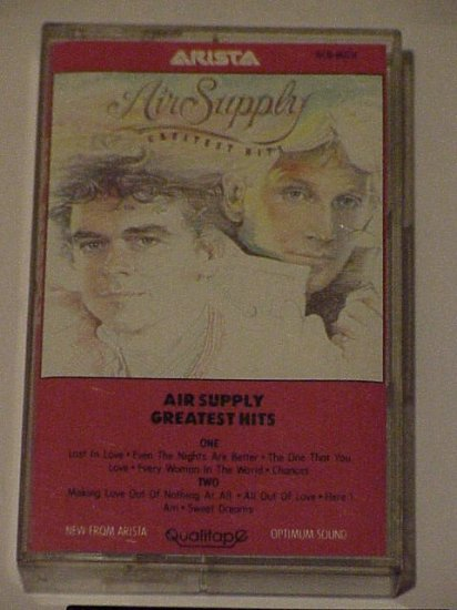 Air Supply  Greatest Hits Cassette
