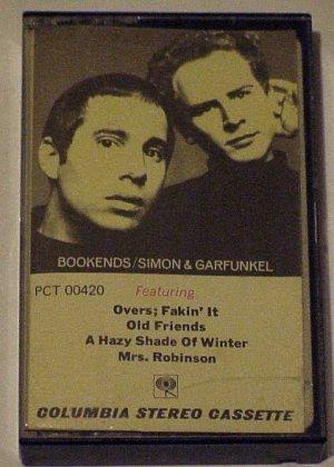 """Cassette Tape """"Simon & Garfunkel"""" BookEnds RARE"""