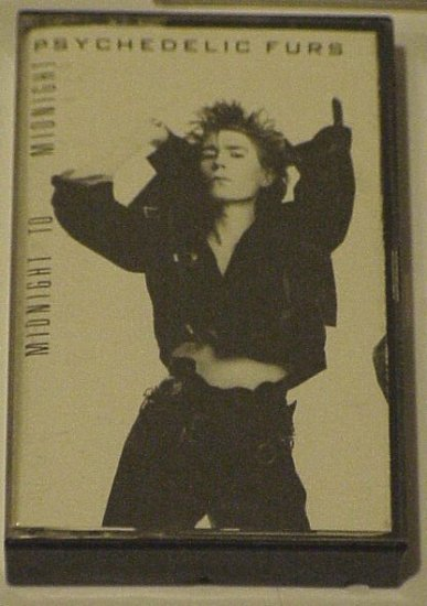 Midnight To Midnight - The Psychedelic Furs (Cassette)