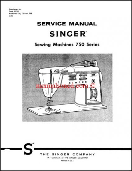 alpha sports wiring diagram singer 750  756  758 touch  amp  sew service and repair manual  singer 750  756  758 touch  amp  sew service and repair manual