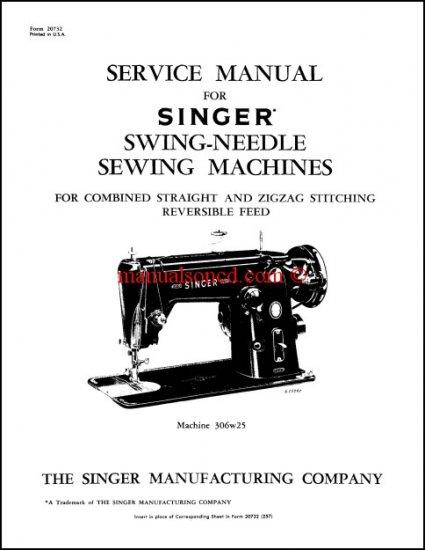 Singer 306 Service manual