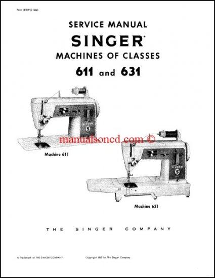 singer 611