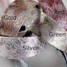 1 Hair Headband Leather Textured Metallic Animal Print