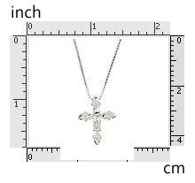 """Clear CZ Baguette CZ 16"""" Necklace 925 Sterling Silver"""