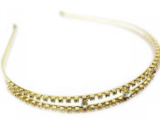 Austrian Crystal Rhinestone Woman Hair Headband NEW