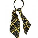 Fashion Scarf Look Headband Satin Chain Designer Black HA00349-ARTGD