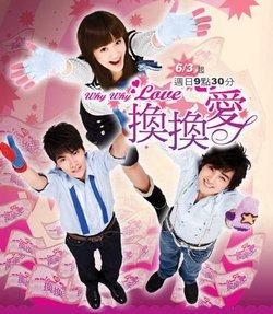 Taiwan drama dvd: Why why love, english subtitles
