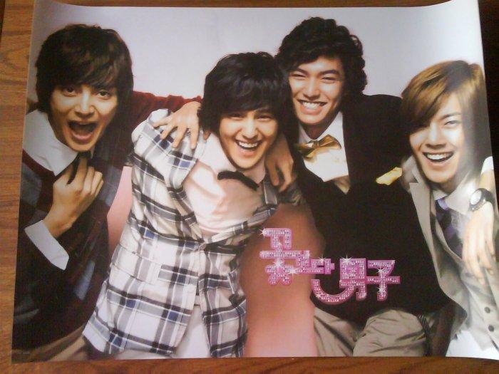 Korean Drama Boys over flowers poster #2