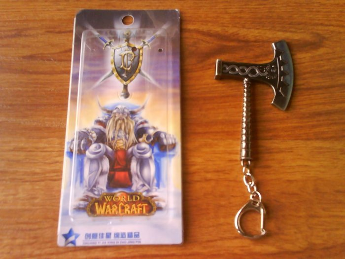 Anime World Of Warcraft Key Chain/Ring #5