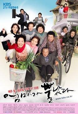Korean drama dvd: Mom's Dead upset a.k.a. Mom has grown horns, English subtitles