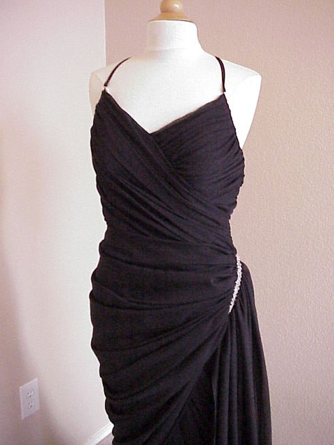 Darius Cordell #5003   Black Special Occasion Dresses   Couture Formal Wear