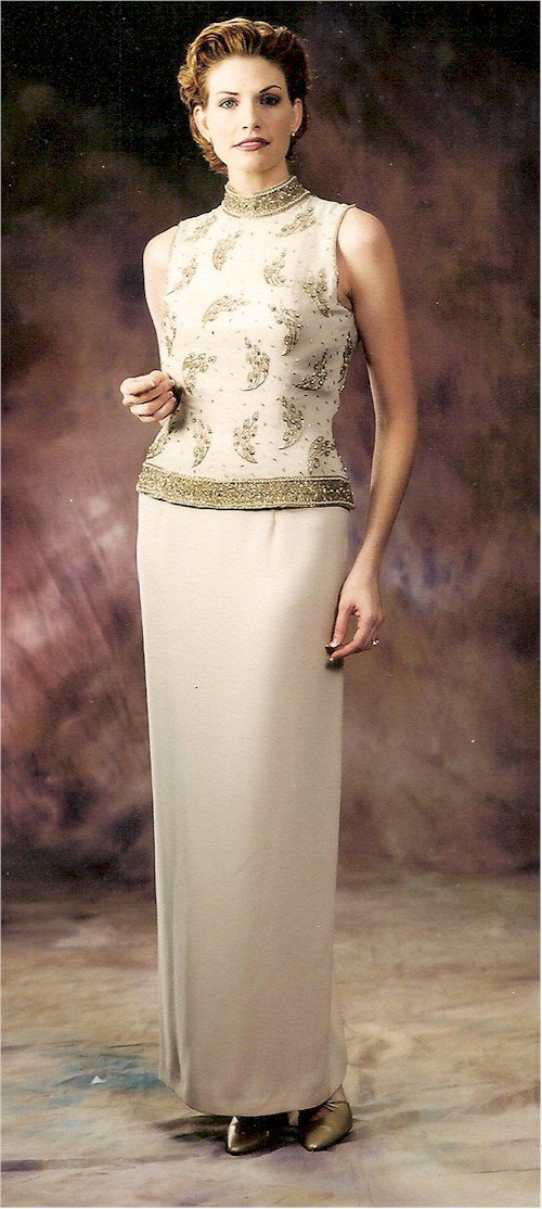 Darius Cordell Style #2096 - Designer Mother of the Bride Gowns