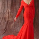 Fashion Designer | Style #1114LS - long sleeve formal gowns | x Fashion Ltd