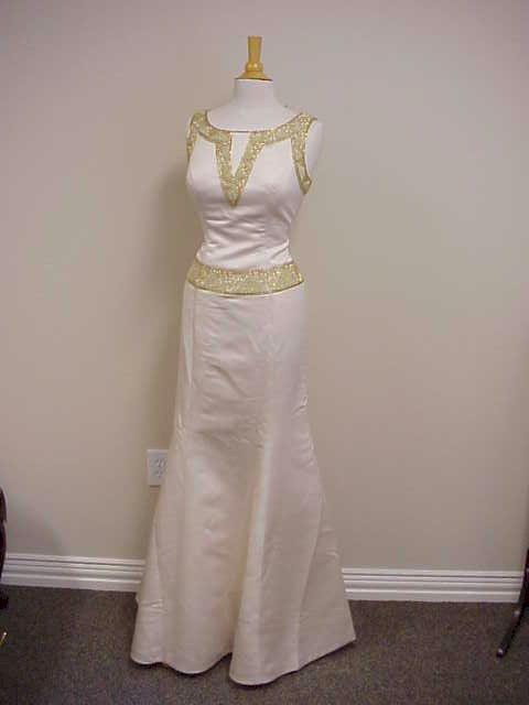 Dress Designer | Style #1002JD - Beaded Evening Dresses | Sleeveless Formal Gowns
