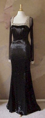 Darius Cordell | #3033 - Liquid Beaded Evening Gowns - Couture Fashion Designs