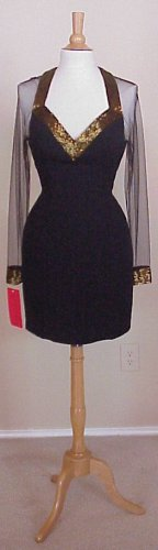 Dress Designer   Style #3310 - Long Sleeve Party Dresses