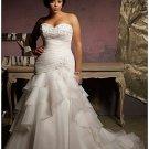 Style #B2016 Custom Plus Size Wedding Gowns