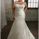 x #PL2028 Plus Size Wedding Attire for Brides