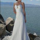 #BDW-008 x Beach Wedding Gowns, Outdoor Destination Wedding Dresses