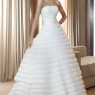 #BDW-051 x Layered Bridal Gowns, Tiered Wedding Gowns