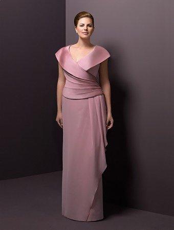 Darius Cordell Dresses - Portrait Collar Mother of Bride Gowns, Evening Dresses