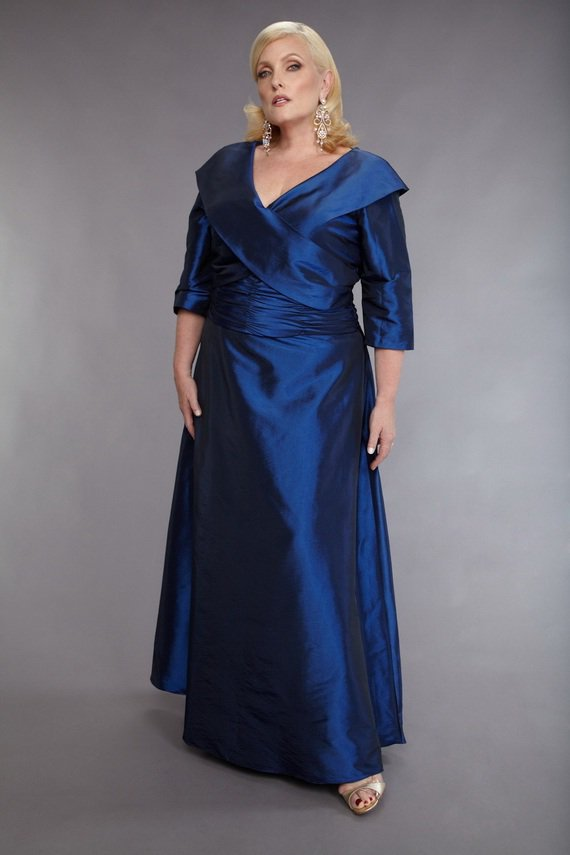 Darius Cordell Mother of Bride Evening Dresses for Plus Size Women