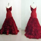 Darius Cordell Red Ball Gown, Red Formal Dresses